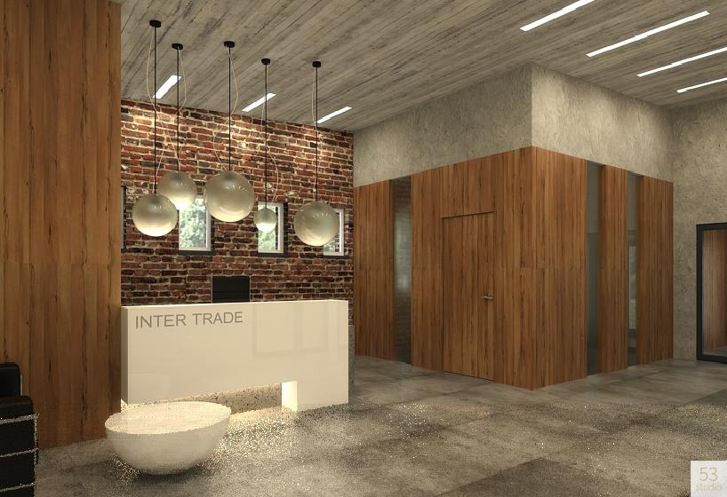 projekt recepcja biuro